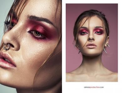 Beauty editorial Ioana Cristea Iulian Urlan Smokey Wetlook