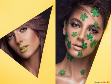 Beauty Editorial Makeup Diana Ionescu