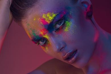 Beauty Makeup Editorial Colors Diana Ionescu Catalin Muntean
