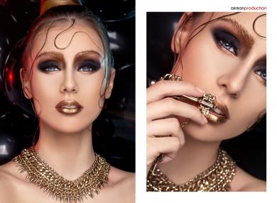 Beauty Editorial Georgiana Codinca MRA Models Catalin Muntean