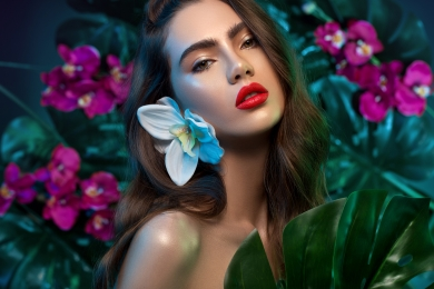 INGLOT beauty campaign international vibrant colors catalin muntean inglot photographer