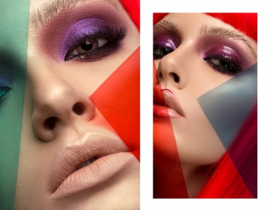 Inglot Romania Beauty Artistic Editorial Catalin Muntean