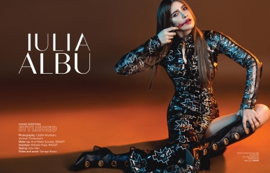 Iulia Albu Editorial Stylished Bravo ai stil