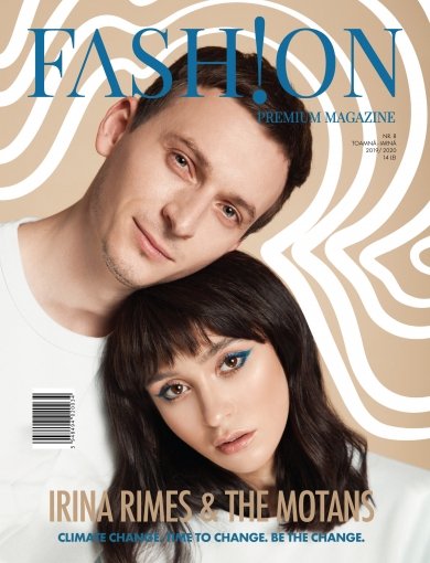 fashion fpm magazine irina rimes denis the motans coperta cover story fotografie catalin muntean