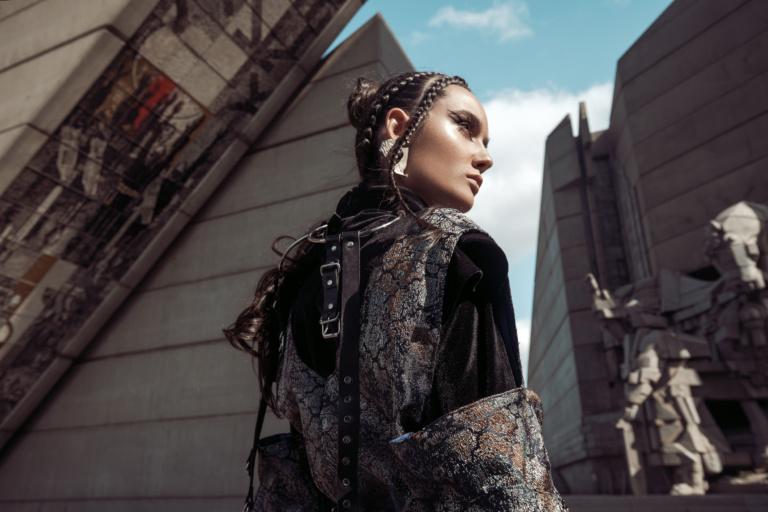 fpm fashion magazine editorial fashion romanian young designers bulgaria shooting architecture catalin muntean
