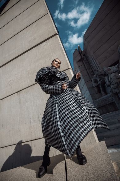 fpm fashion magazine editorial fashion romanian young designers bulgaria shooting architecture catalin muntean